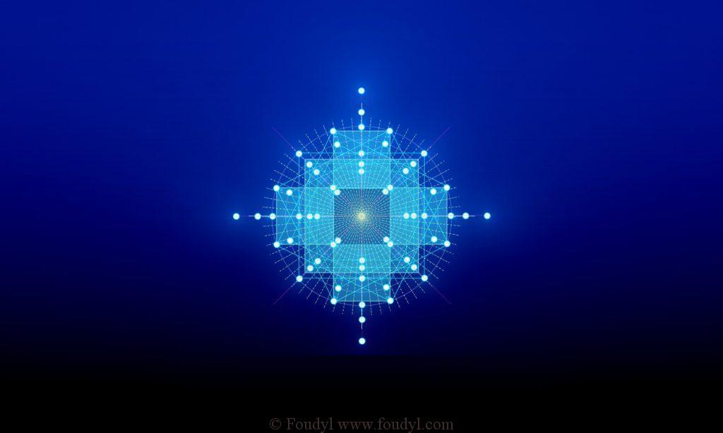 le ReXxel géométrie sacrée fractale