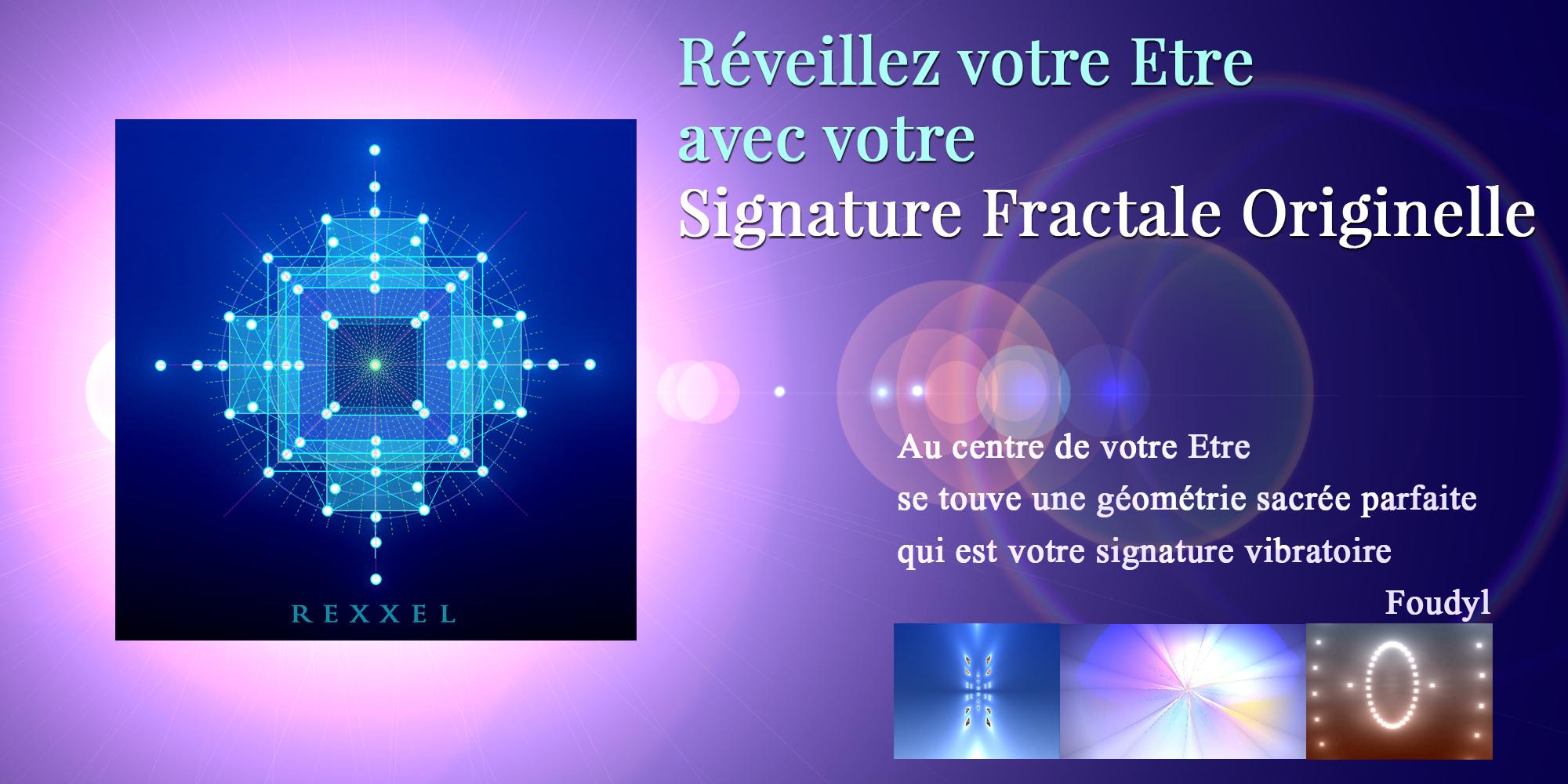 Signature Fractale Originelle